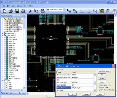 pads logic:工程化的多页/层次式的原理图创建环境